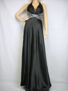 Long black prom dress at apparelcraze.com