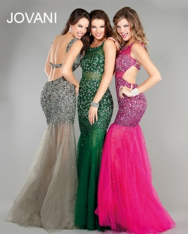 mermaid style dress for prom