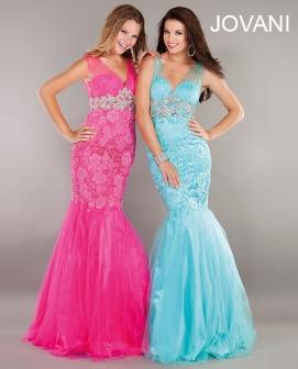prom dress in mermaid #158908