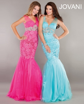 prom dress in mermaid #158908