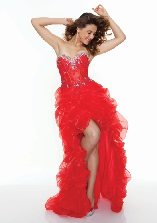 Pretty high low prom dress Paparazzi 93078