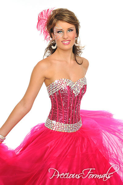 Ball gown formal dress