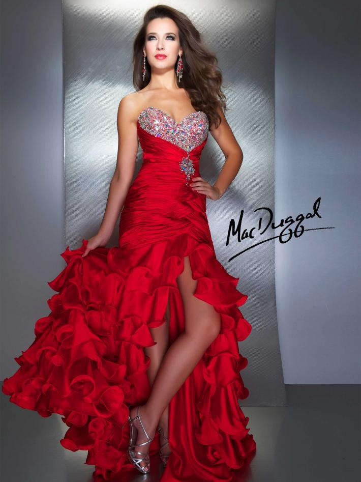 Prom gown by Mac Duggal 4946M