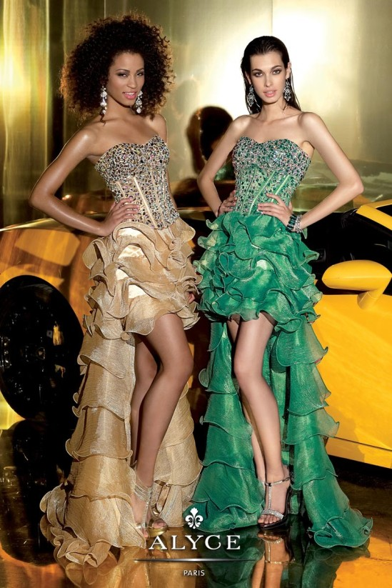 Alyce prom dress 6012