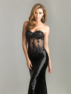 Prom dress from Night Moves 6611