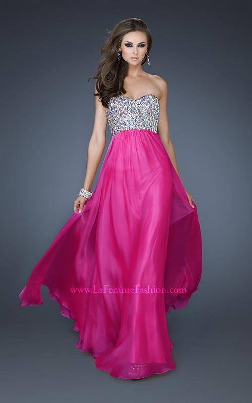 La Femme 18686 prom dress