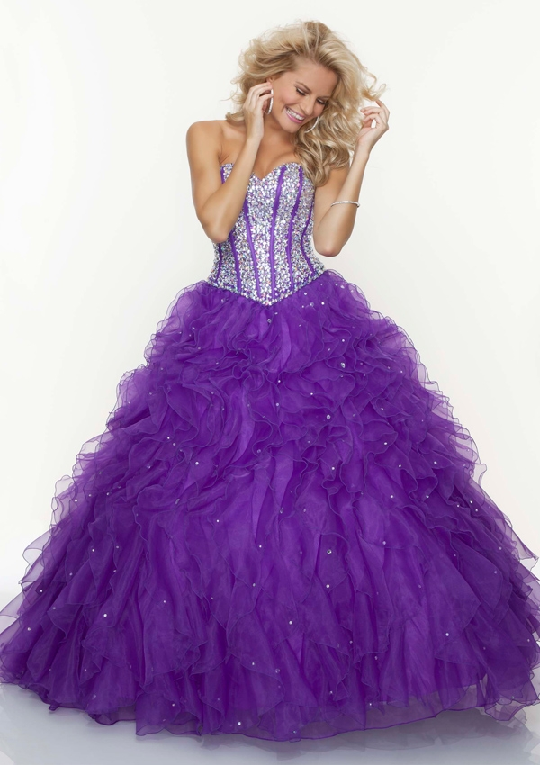2013 Princess prom ball gown 93085 from Mori Lee