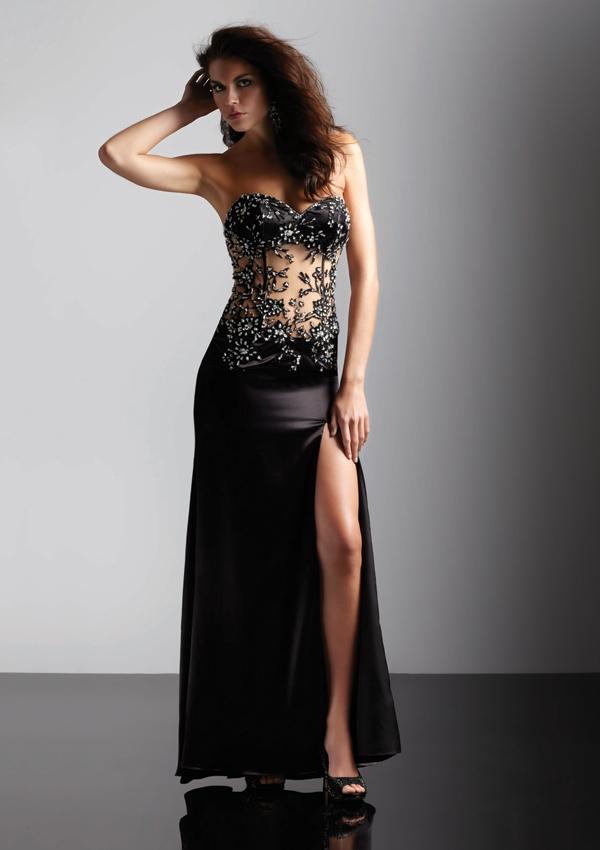 Amazing black prom dress