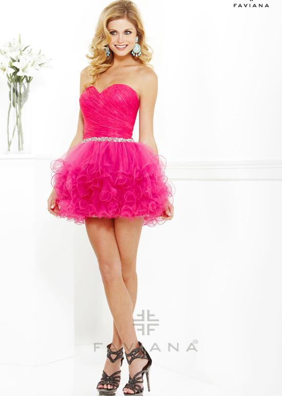 Prom dress by Faviana 7191