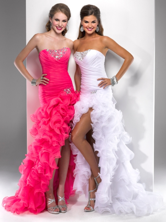 Prom dress from Flirt style P4704