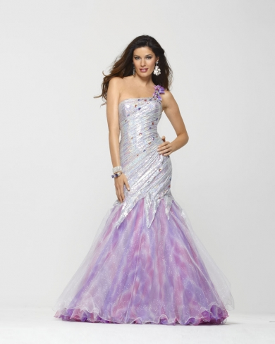 Clarisse print gown for 2013.