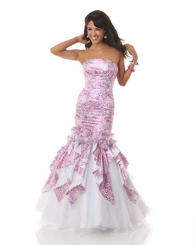 Top 30 Best Printed Prom Dresses For 2013 – Apparel Craze
