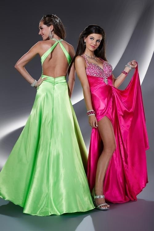 Long-Fuchsia-Prom-Dress-Features